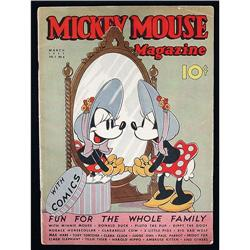 Mickey Mouse Magazine With Comics - March 1937, Vol 2