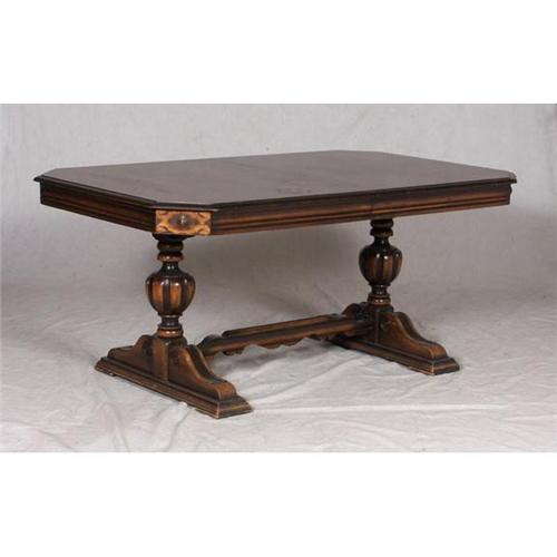 Jacobean Revival Dining Table 6 Chairs