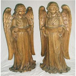 French Canadian Wood Carvings