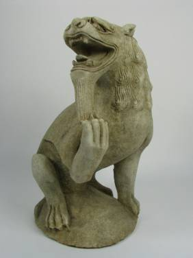 A SUNG-YUAN DYNASTY MARBLE SCULPTURE, 969-136