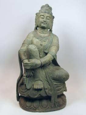 A BEAUTIFUL YUAN DYNASTY QUANYIN, c.1279-1369
