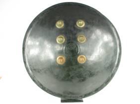 A FINE INDIAN BATTLE SHIELD, c.19-20th Centur