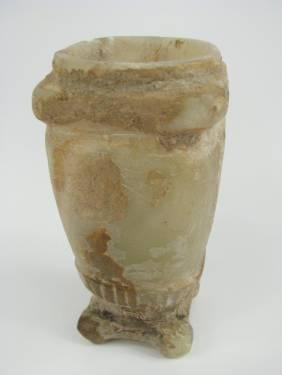 A FINE BACTRIAN ALABASTER VESSEL, c.3-2nd Mil
