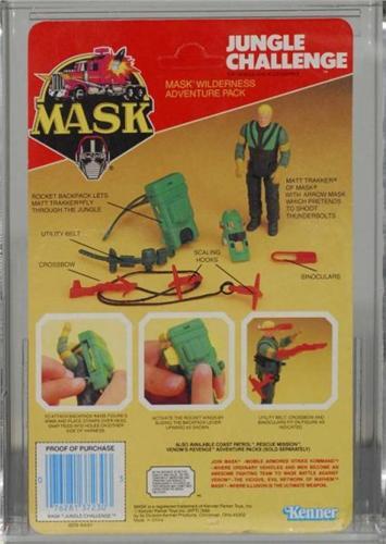 M.A.S.K Matt Trakker avec flèche action figure de jungle challenge
