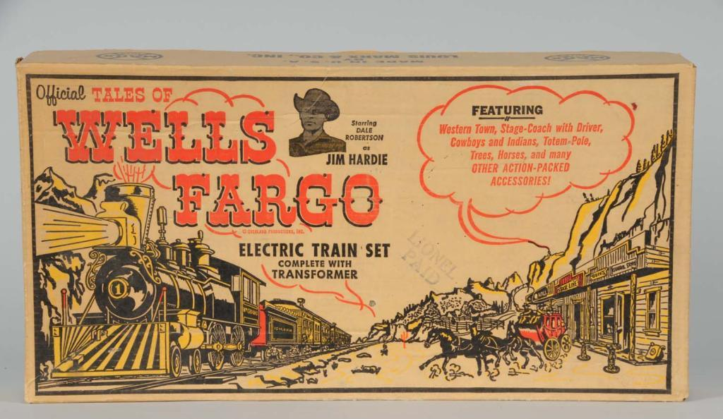 Marx Outfit #54762 O-Gauge Wells Fargo Train Set