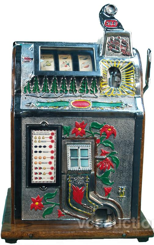 Mills poinsettia slot machine native american income from casinos