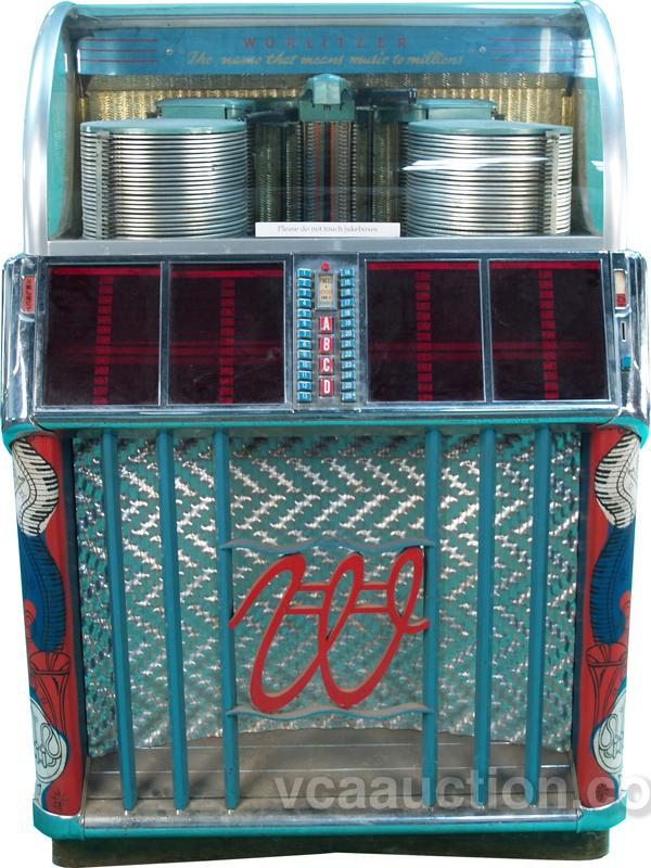 1952 Wurlitzer Model 1500-A Jukebox