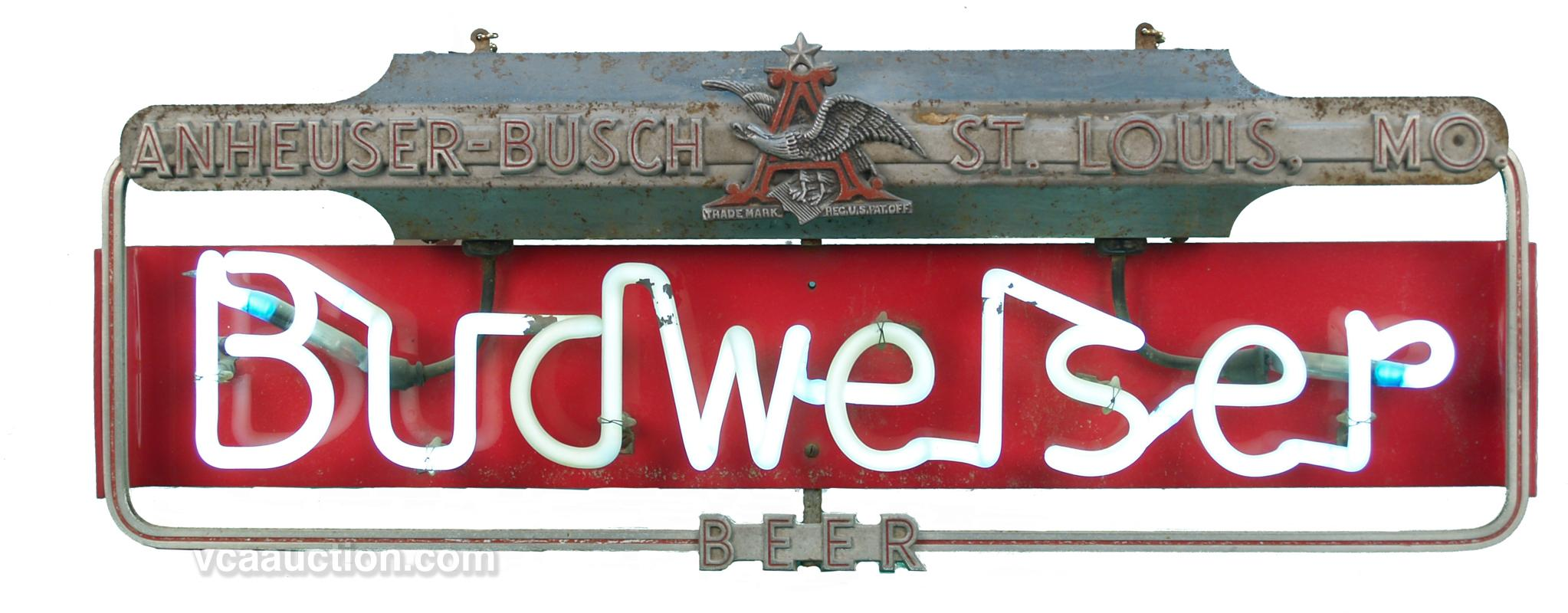 Early Budweiser Neon Sign - 27