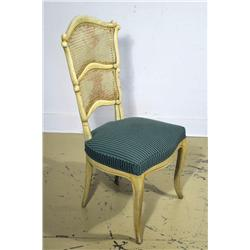 A Grosfeld House Style painted side chair.