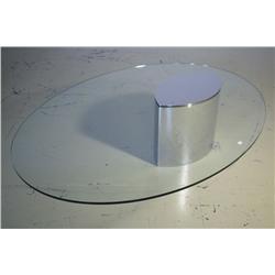A Cini Boeri Lunario coffee table by Gavina, for Knoll,