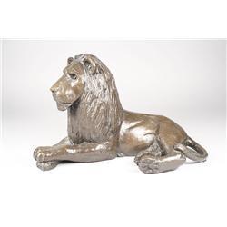 William McVey (Cleveland, 1904-1995) Bronze Lion, Signed low