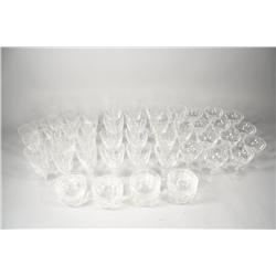 A set of Maastricht Holland crystal,