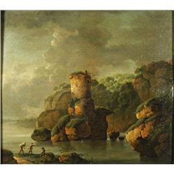 Circle of Richard Wilson (British, 1714-1782) Isle of Wright