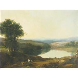 Circle of Richard Wilson (British, 1714-1782) Panoramic Land