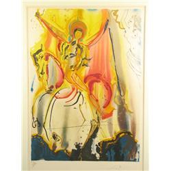 Salvador Dali (Spanish, 1904-1989) Paradise, Etching, editio