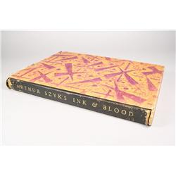 Ink and Blood, limited signed edition book by Arthur Szyk.