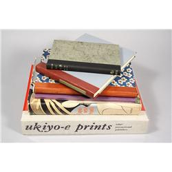 A collection of six books pertaining to Asian Prints and Sto