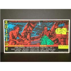 2001 Suicide Cooler Shutdown Concert Poster