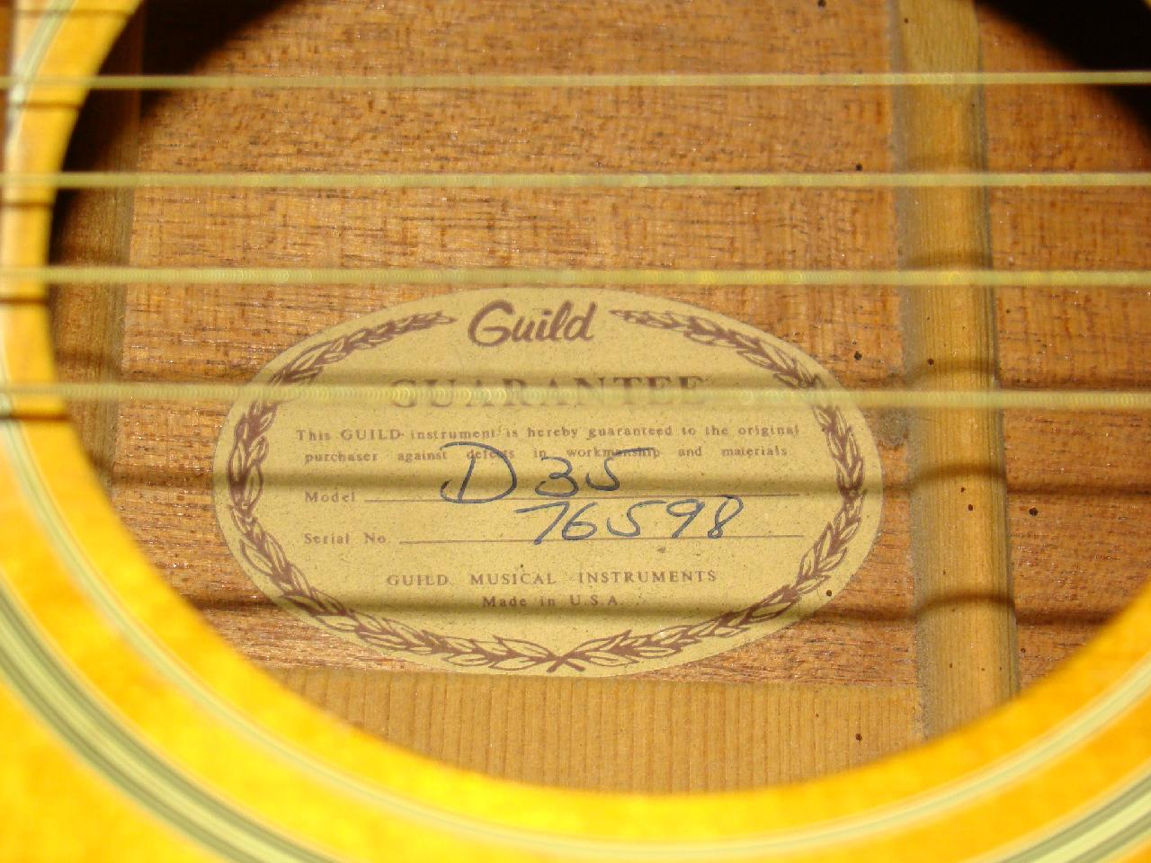 Guild d35 dating