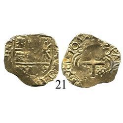 Bogotá, Colombia, cob 2 escudos, 1705.