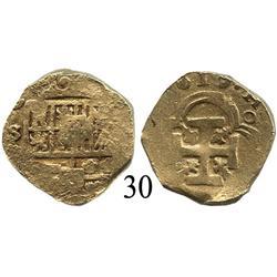 Seville, Spain cob 2 escudos, (1)619(G).