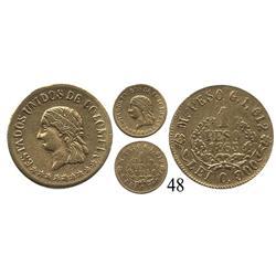 Medellín, Colombia, un peso, 1863.