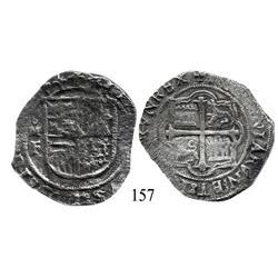 Mexico City, Mexico, cob 8 reales, Philip III, oMF.