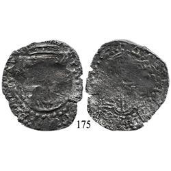 Potosí, Bolivia, cob 8 reales, 1619(T), Grade 3.