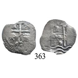 Potosí, Bolivia, cob 2 reales, 1679C.