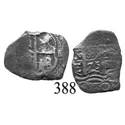 Potosí, Bolivia, cob 1 real, 1675E