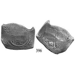 Mexico City, Mexico, cob 8 reales, (16)80, oM(L).