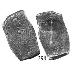 Mexico City, Mexico, cob 8 reales, 1680, oML.
