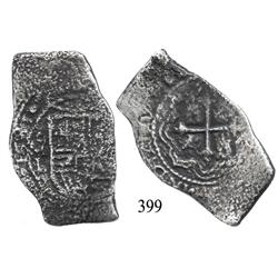 Mexico City, Mexico, cob 8 reales, 1681, oML.