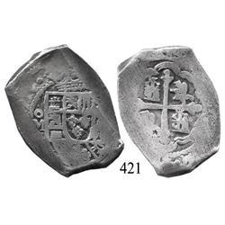 Mexico City, Mexico, cob 8 reales, (1)714, oM(J).