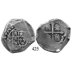 Mexico City, Mexico, cob 8 reales, 1715, oM(J).