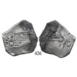Mexico City, Mexico, cob 8 reales, 171(?), oMJ.