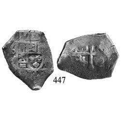 Mexico City, Mexico, cob 4 reales, Philip V, oM(J).