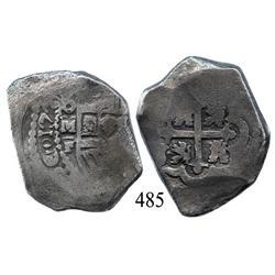 Mexico City, Mexico, cob 8 reales, 173(?), oMF.