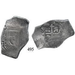 Mexico City, Mexico, cob 8 reales, Philip V, oMJ (1705-24).