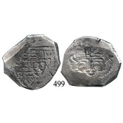 Mexico City, Mexico, cob 8 reales, 1729, oMR.