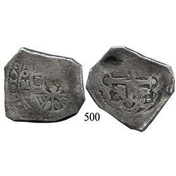 Mexico City, Mexico, cob 8 reales, 172(9), oMR.