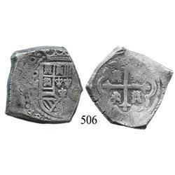 Mexico City, Mexico, cob 8 reales, (1)730, oMR.