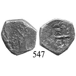 Mexico City, Mexico, cob 2 reales, 1731, oM(F).
