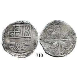 Potosí, Bolivia, cob 8 reales, (16)31(T), scarce.