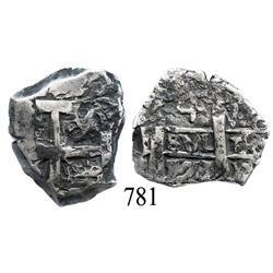 Potosí, Bolivia, cob 4 reales, 1771V-(Y).
