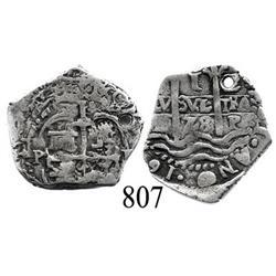 Potosí, Bolivia, cob 1 real, 1678E.