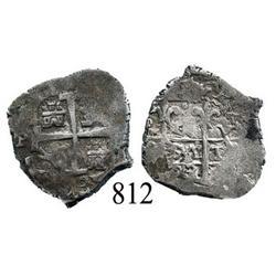 Potosí, Bolivia, cob 1 real, 1683V.