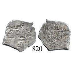 Potosí, Bolivia, cob 1 real, 1689VR.