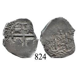 Potosí, Bolivia, cob 1 real, 1692VR.