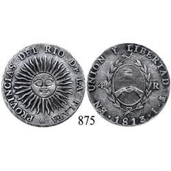 Argentina (Potosí), 4 reales, 1813J.